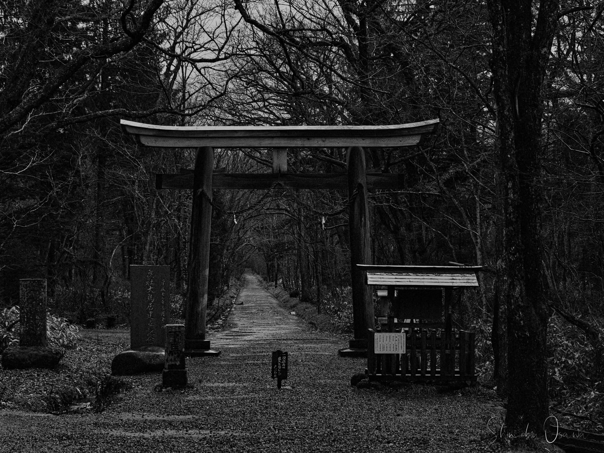 戸隠神社 奥社鳥居