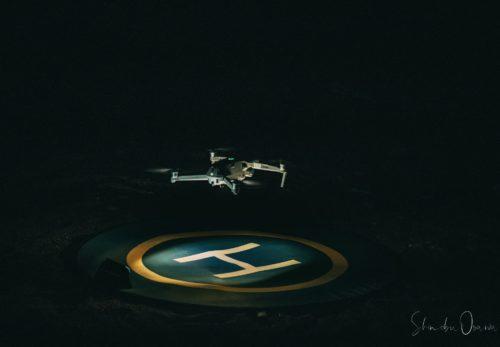 夜間飛行訓練 ドローン