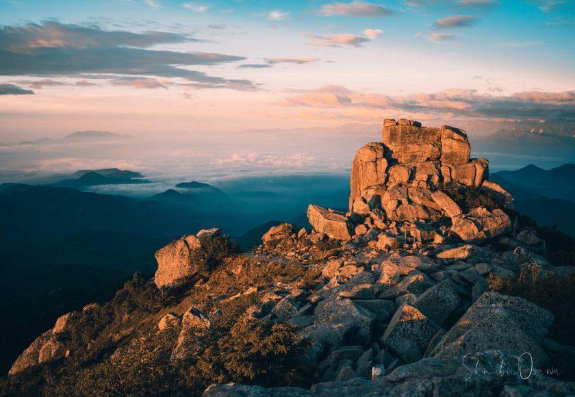 金峰山 五丈岩